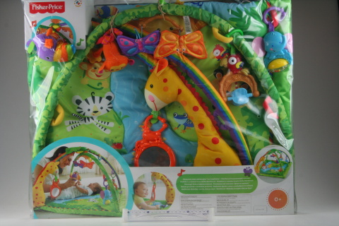Fisher Price Hudební a světelná hrazdička Rainforest K4562
