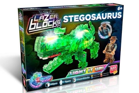 Stavebnice Stegosaurus svítící