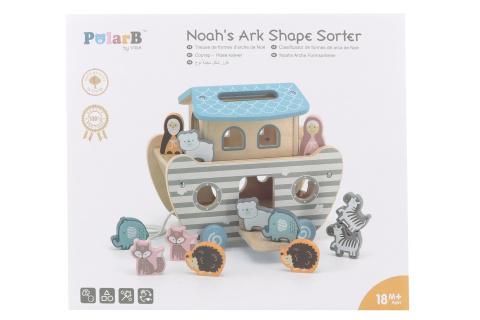 Dřevěná vkládačka Noemova archa