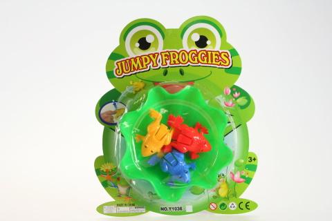 Hra žabky skákací