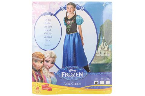 Kostým Princezna Anna 9 - 10 let
