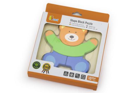 Puzzle pro nejmenší - medvídek