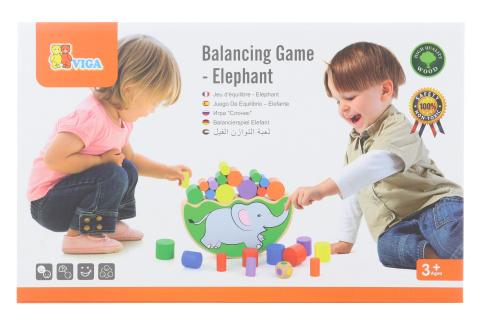 Dřevěná hra sloní rovnováha