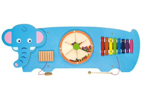 Dřevěná nástěnná hra - slon