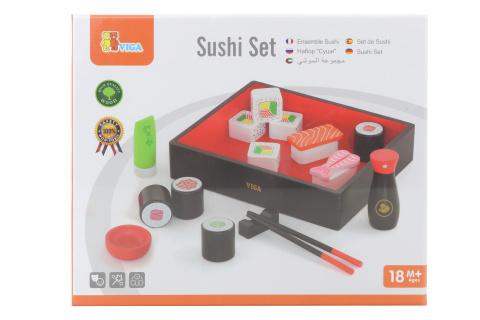 Dřevěné sushi