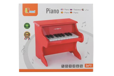 Dřevěné piáno - 18 kláves
