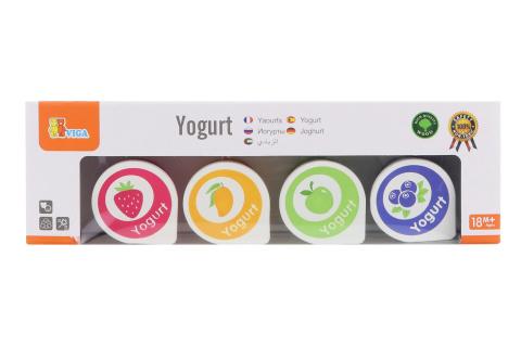 Dřevěné jogurty