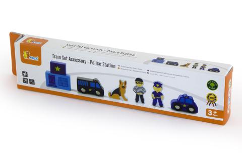 Dřevěné policejní figurky