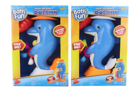 Delfín na vodu - mlýnek