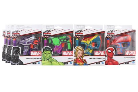 Nerf Marvel Microshots