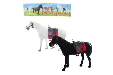 Kůň se sedlem