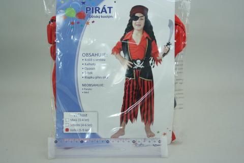 Šaty Pirát vel.M