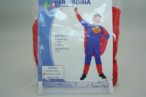 Šaty Super hrdina vel.S