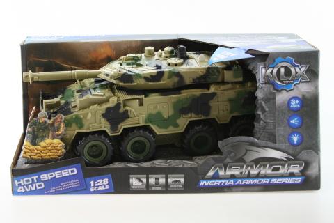 Tank na baterie - maskáč světlý