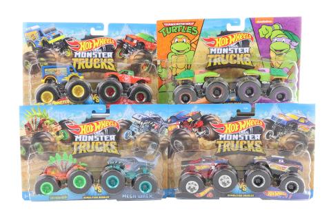 Hot Wheels Monster trucks demoliční duo FYJ64