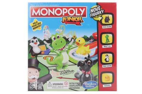Monopoly Junior CZ TV 1.9.- 31.12.2020
