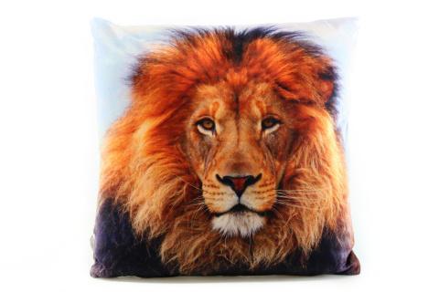 Polštářek 33 x 33 cm lev