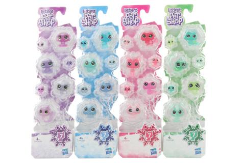 Littlest PetShop Zvířátka z ledového království 7ks