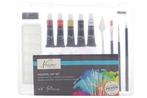 Akvarelové barvy 18 ks