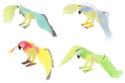 Papoušek 33cm 12/bal