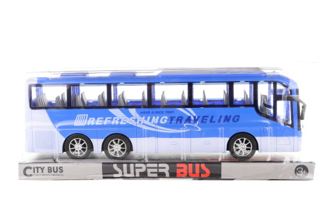 Autobus na setrvačník modrý