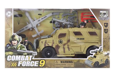 Vojenská sada s terénním autem
