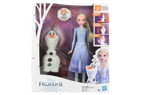 Frozen 2 interaktivní Olaf a Elsa