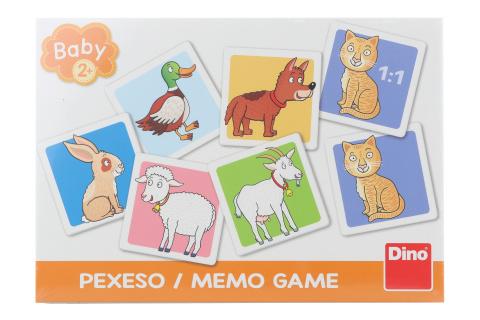 Pexeso - domácí zvířátka