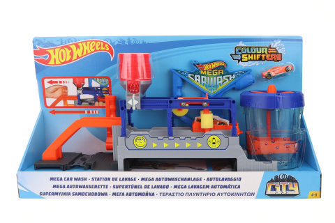 Hot Wheels Color shifters mega myčka FTB66