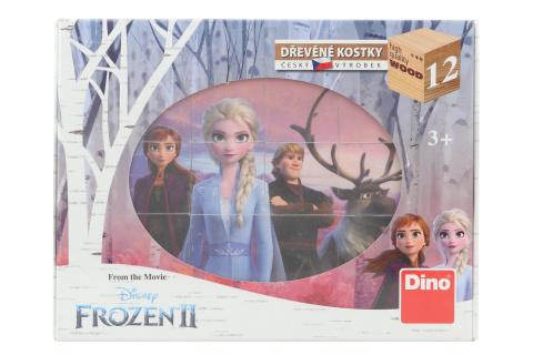Dřevěné kostky - Frozen II 12