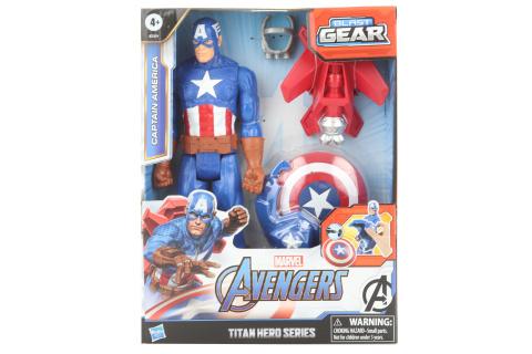 Avengers Figurka Captain America s power fx příslušenstvím