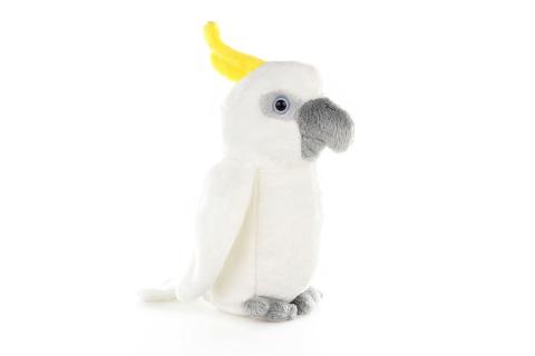 Plyš Papoušek kakadu
