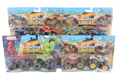 Hot Wheels Monster trucks demoliční duo FYJ64 TV 1.3.-30.6.2020