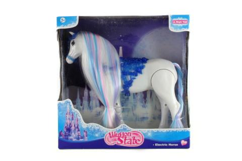 Kůň chodící se zvuky