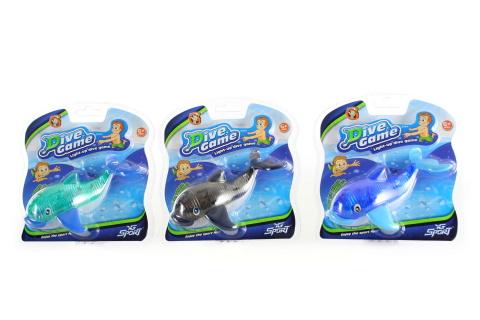 Velryba na potápění se světlem