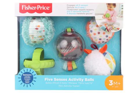 Fisher Price Míčky pro všechny smysly FXC32