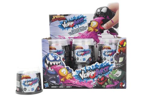 Spider-man Venom se slizem