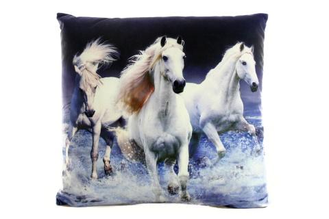 Polštářek 33 x 33 cm koně
