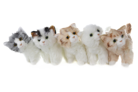 Plyš Kočka 28 cm