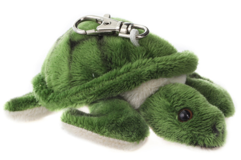 Plyš Želva klíčenka 12 cm