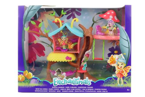 Enchantimals brouček a motýlí dům GBX08