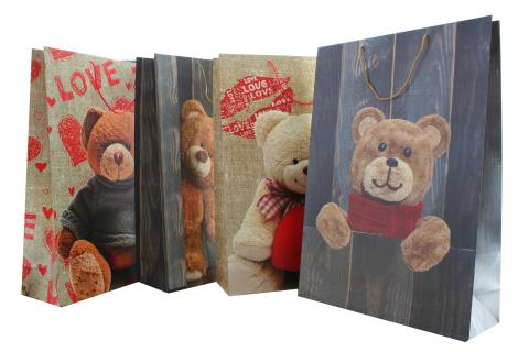 Dárková taška medvědi ohromná
