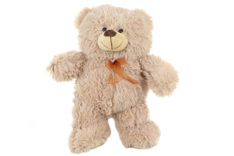 Plyš Medvěd světlý 46 cm