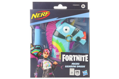 Nerf Microshots Fortnite Rainbow Smash