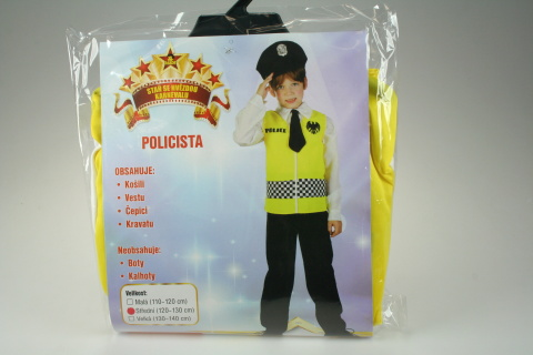 Šaty Policie 120 - 130 cm