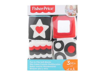 Fisher Price Naučné měkké kostky GFC37