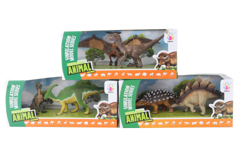 Dinosauři 2 ks v krabičce