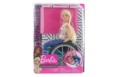 Barbie Panenka na vozíčku GGL22