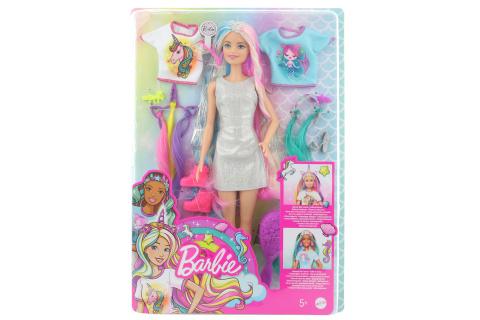 Barbie Panenka s pohádkovými vlasy GHN04