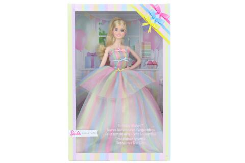 Barbie Narozeninová barbie GHT42